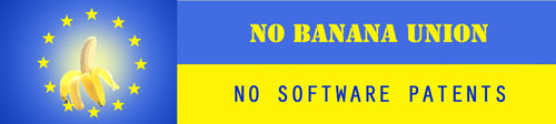 No Banana Union, No Software Patents